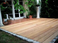 Sehr Richard Hennig • Bau einer Holzterasse XR93